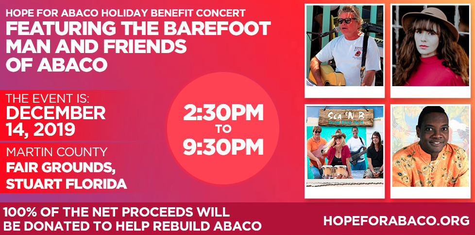 Barefoot Man and Friends - Hope for Abaco Hurricane Relief Concert